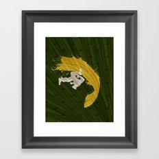For Charlie (Homage To Guile) Framed Art Print