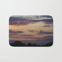 Vibrant Clouds Bath Mat
