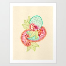 Arabesque #1 Art Print