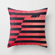 slyg stryyp Throw Pillow
