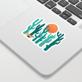 Desert fox Sticker