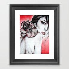Asian Rose  Framed Art Print