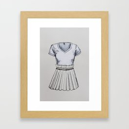 Fee Framed Art Print