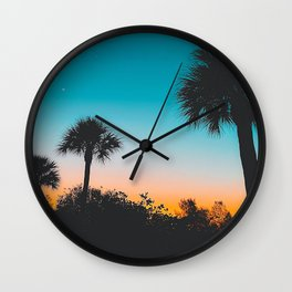 When The Sun Goes Down Wall Clock
