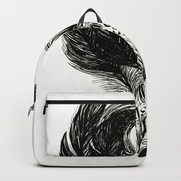 Feathers and Hearts Psalm 91:4 Backpack
