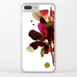 bloomy October Clear iPhone Case