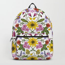 Montana Wildflowers Backpack