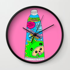 Toothpaste Wall Clock