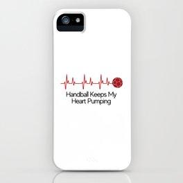 Handball Pumps My Heart iPhone Case