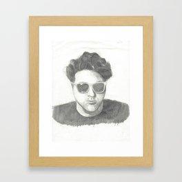 brett Framed Art Print