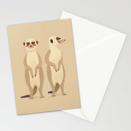 Meerkat, African Wildlife Stationery Cards