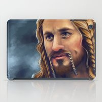fili iPad Cases featuring Fili-Blue and gold by Faerytale-Wings