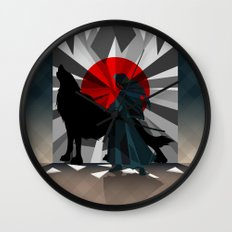 Spirit trapped in mirrors  Wall Clock