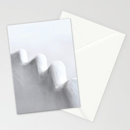 White and Minimal Stationery Cards