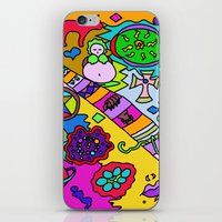 bible verses iPhone & iPod Skins featuring Science Verses Religion by Linda Tomei