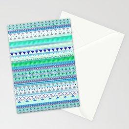 EMERALD CHENOA PATTERN Stationery Cards