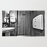 bathroom Area & Throw Rugs featuring bathroom by artinn