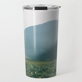 Sunburst in a field in Scotland - Landscape Photography Travel Mug