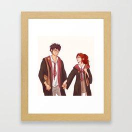 Head Girl and Head Boy Framed Art Print