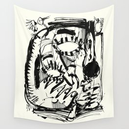 The Scholar Wall Tapestry