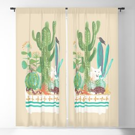 Desert planter Blackout Curtain