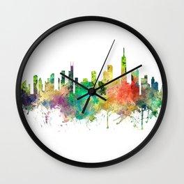 Chicago, Illinois Skyline SP Wall Clock