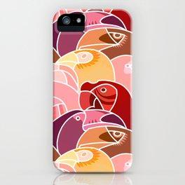Beaky Birds iPhone Case