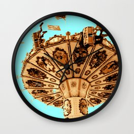 Flying high high Wall Clock