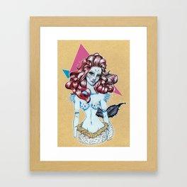I'm not a little mermaid Framed Art Print