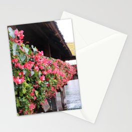 CHAPEL BRIDGE IN THE FALL Stationery Cards