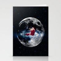 santa Stationery Cards featuring Santa by Cs025