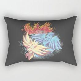 Team Battle Go! Rectangular Pillow