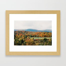 Vermont Views - 35mm Film Framed Art Print