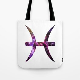 Galactic Pisces Tote Bag