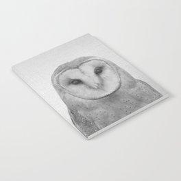 Owl - Black & White Notebook