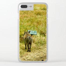 Warthog Rebels Clear iPhone Case