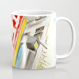 Alamo Drafthouse watercolor Coffee Mug