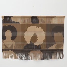 FOR BROWN GIRLS COLLECTION COLLAGE Wall Hanging