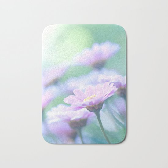 Soft Pink Marguerite Daisy Flower #2 #decor #art #society6 Bath Mat
