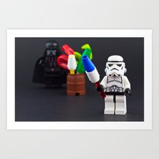 Happy Force of July Art Print