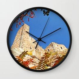 Autumnally castle Wall Clock