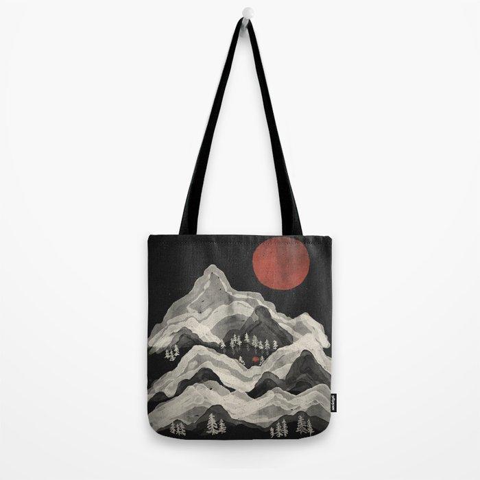 Moon Lake... Tote Bag