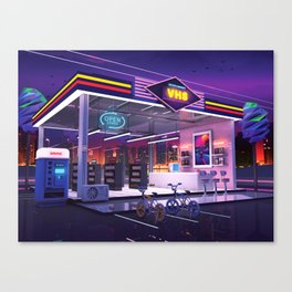 VHS Video Store Canvas Print
