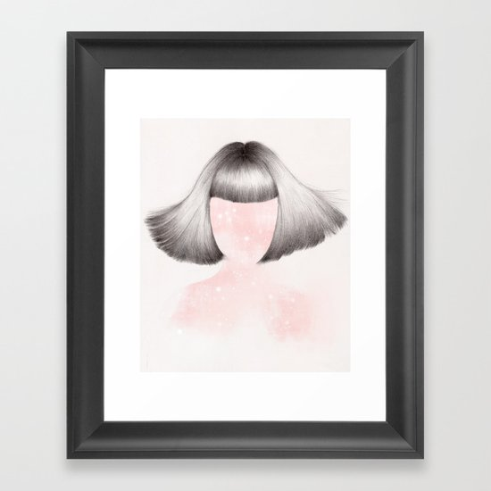 Cosmic Wonder Framed Art Print