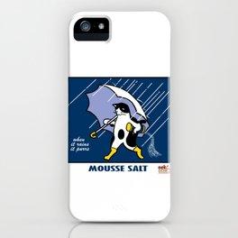 Mousse Salt iPhone Case