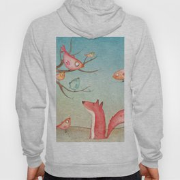 Gabriel's tales: Fox and the birds Hoody