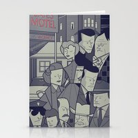 psycho Stationery Cards featuring Psycho by Ale Giorgini
