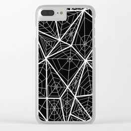 The Spider's webs Clear iPhone Case