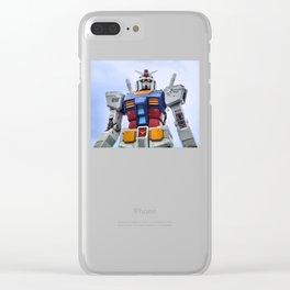 Gundam Stare Clear iPhone Case