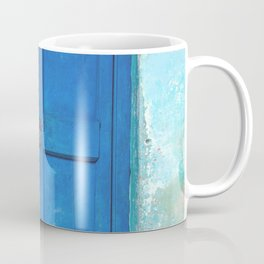 Blue Indian Door Coffee Mug